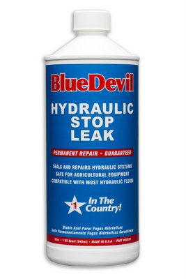 Stop Hydraulic System Leaks with BlueDevil