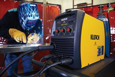 Klutch MIG Inverter-Powered Wire-Feed MIG Welder-44725b