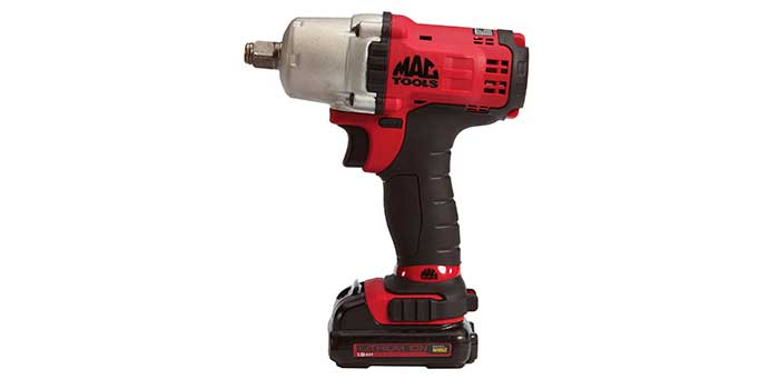 Mac Tools Cordless Tool line - Available in both the 12V Max and 20V Max battery platforms, these cordless impacts, feature die-cast aluminum housings for reduced weight and maximum durability.