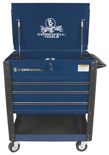 cornwell tools' tool cart keep tools where you need them