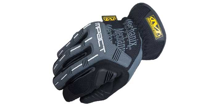 mechanix-wear-mpact For comfort, the company encased D3O palm padding to absorb impact through the hand and reduce fatigue as the day goes on.