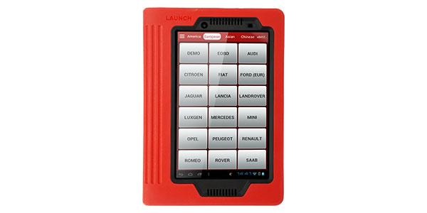 Automotive OBD II tablet