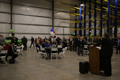 Don Henthorn, BendPak president and owner, expressed excitement and optimism about his company's direction.