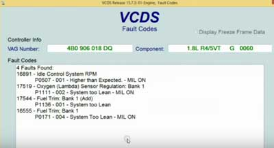 The Humble Mechanic: VW Check Engine Light Diagnostics