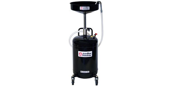 JohnDow JDI-18DC 18-Gallon Self-Evacuating Portable Oil Drain
