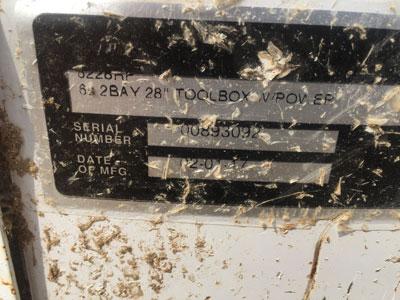 Matco Tools toolbox survives tornado