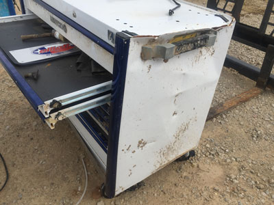 Matco Tools toolbox survives tornado