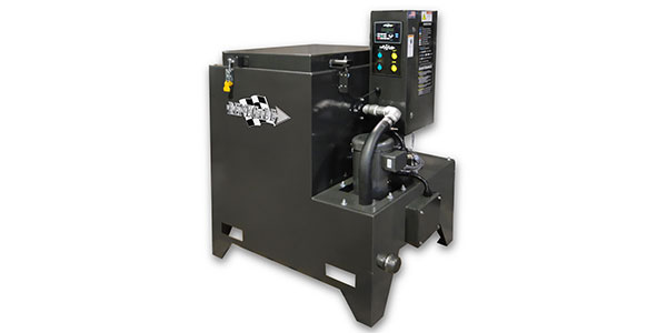 The Renegade Model TMB-5500 Parts Washer Solvent-Free System cleans a broad range of parts and components covered with grease, oil or lubricants.