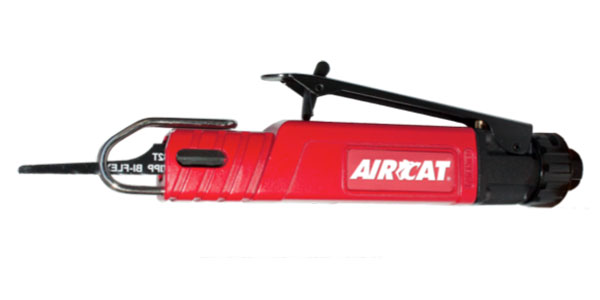 Florida Pneumatic Manufacturing Corporation offers the AIRCAT 6350 low vibration reciprocation saw.