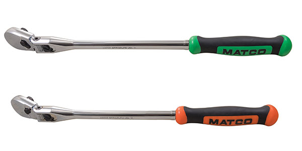 "Matco Tools 3/8"" Drive 15"" eighty8 Tooth Locking Flex Ratchet"