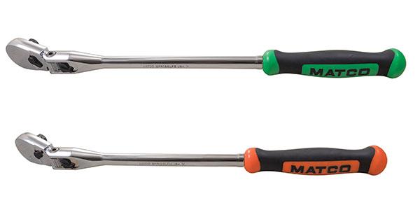 "Matco Tools 3/8"" Drive 15"" eighty8 Tooth Locking Flex Ratchet"