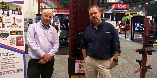 Mohawk Lifts Steve Perlstein SEMA 2017