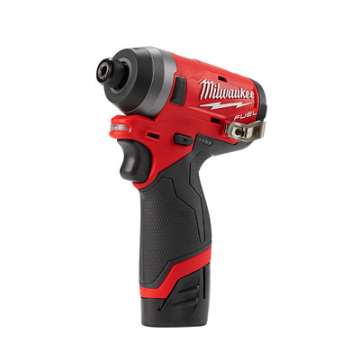 "Milwaukee Tools M12 Fuel 1/4"" Hex Impact Driver (2553-22)"