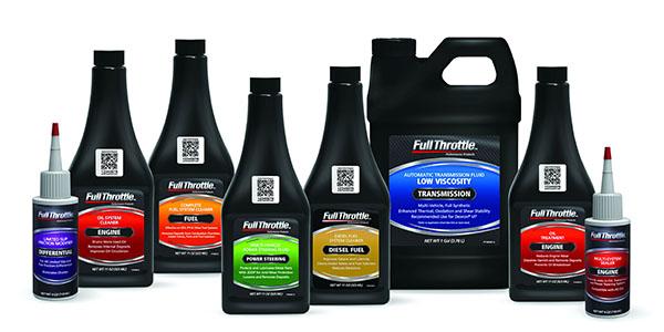 8 Full Throttle product bottles