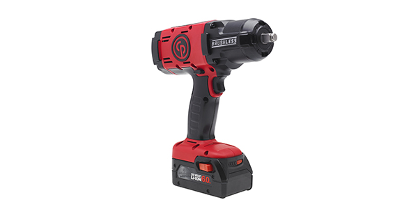 Chicago Pneumatic Cordless Impact Wrench Offers Improved Precision Control