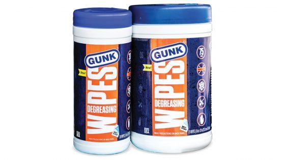 gunk degreasing wipes
