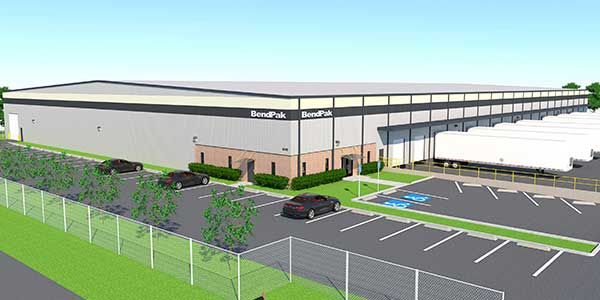 BendPak Opens Distribution Center in Alabama