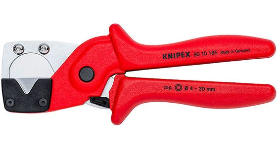 Knipex offers its Pipe Cutters for Multilayer and Pneumatic Hoses P/N 90 10 1850