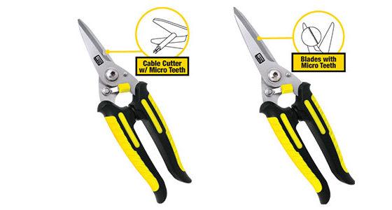 Heavy Duty Scissors with Micro Teeth