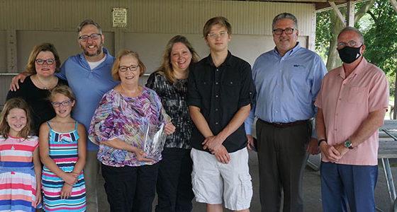 Bill Eernisse family - ETI award