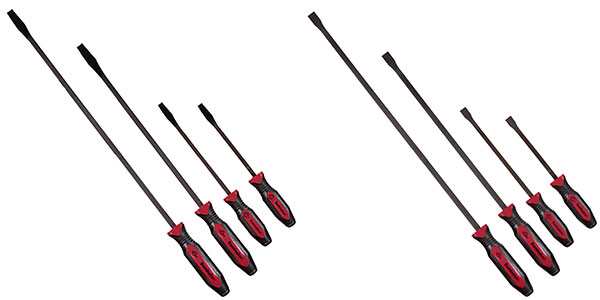 Mayhew 2 New 4-Piece Dominator Pro Pry Bar Sets