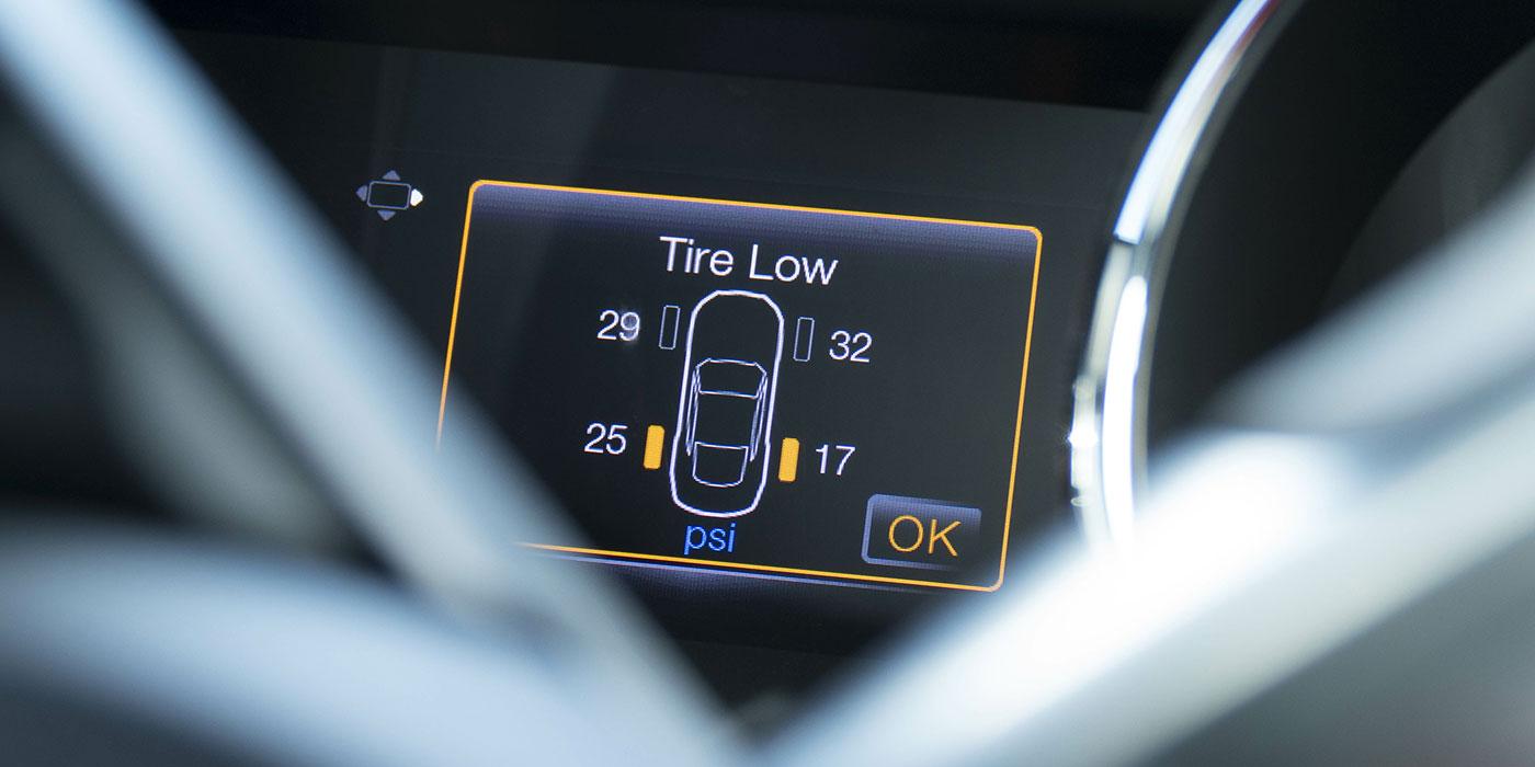 TPMS dash light low tire light