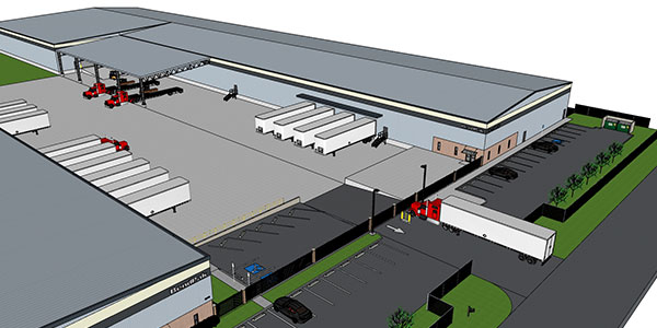 BendPak is building a new 70,000-square-foot warehouse next door to the 100,000-square-foot distribution center it opened near Mobile, Alabama
