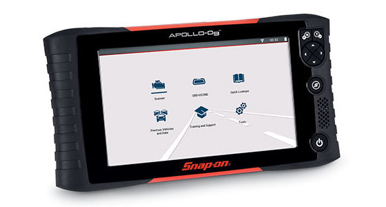 APOLLO-D9 simplifies the technician's workflow