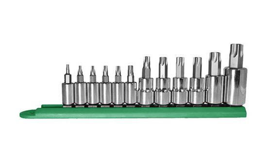 Mayhew 12-piece Torx Socket Bit Set (P/N 16013)