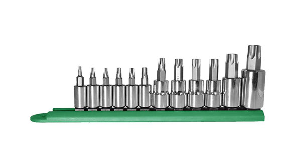 Mayhew 12-piece Torx Socket Bit Set (P/N 16013)