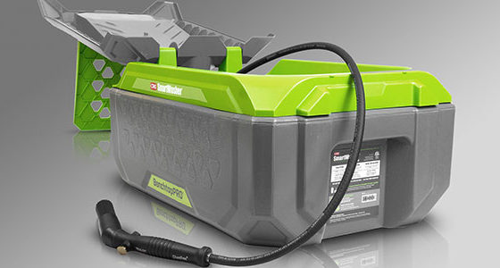 The new CRC SmartWasher® BenchtopPRO® is the first portable, storable bioremediating parts washer.