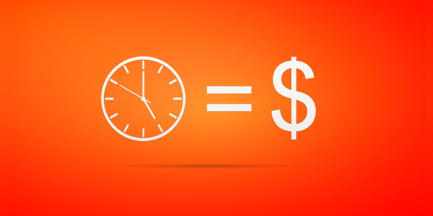 time equals money