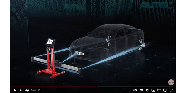 Autel US introduces the IA800, Intelligent ADAS Optical Positioning six-camera accessory package for use with its Standard ADAS Calibration frame.