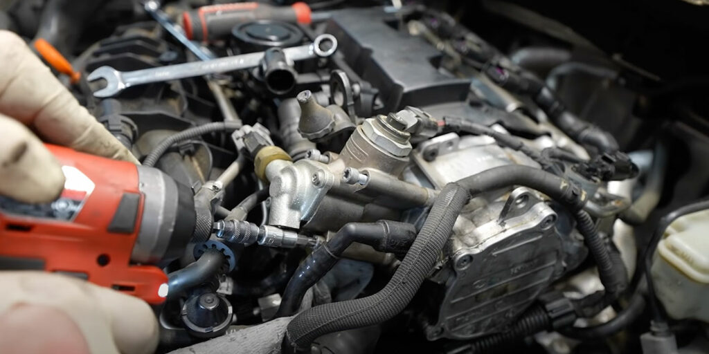 Humble Mechanic timing belt break