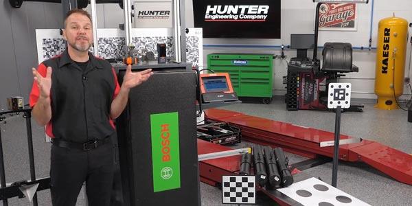 Hunter DAS 3000 and ADASLink Complete Calibration System [Video]