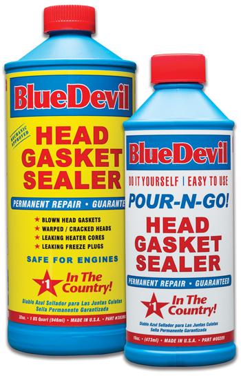 BlueDevil Head Gasket Sealer Works On Gasoline Or Diesel Engines