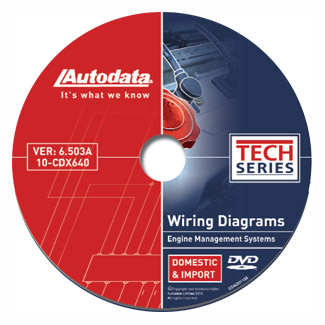 Autodata Publications offers Colored Wiring Diagrams on DVDs with Component  LocationsTech Shop Magazine